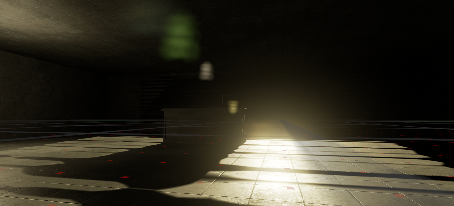 Lighting and level layout