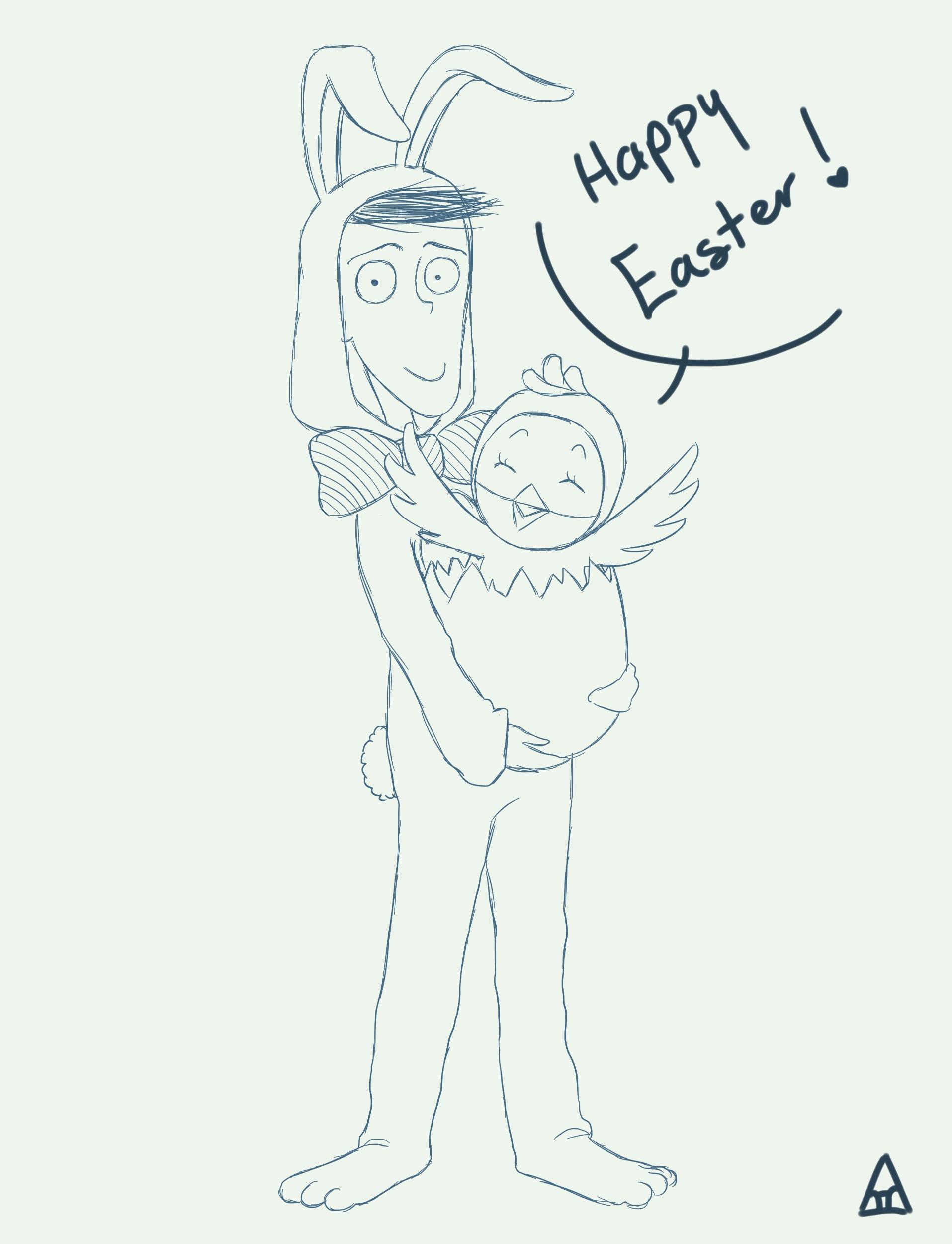 Happy Easter Sketch!