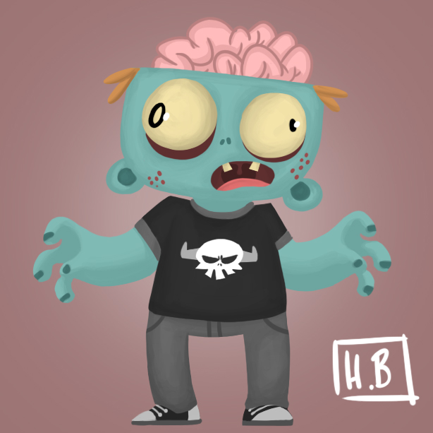 Frank The Teen Zombie