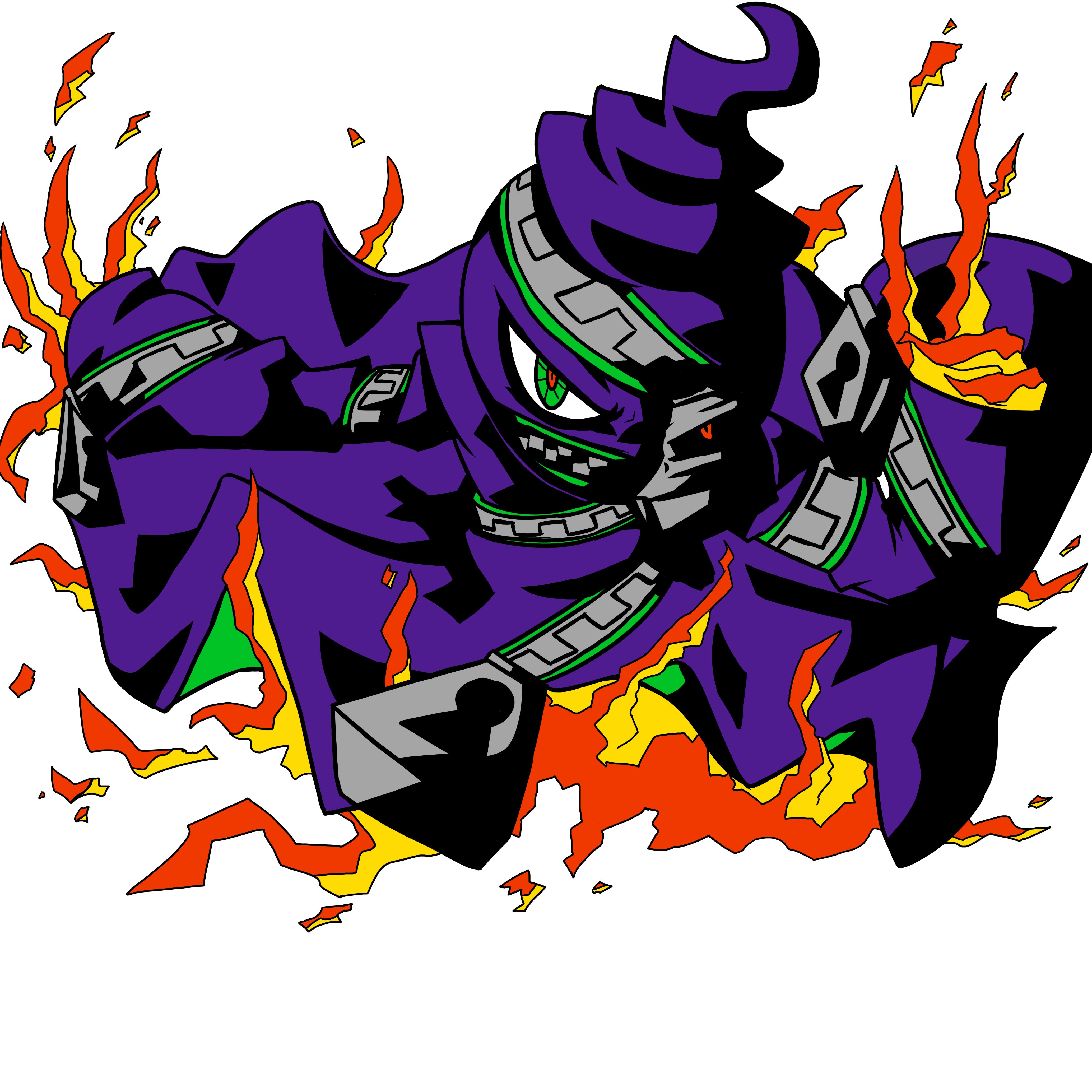 burn bebeh