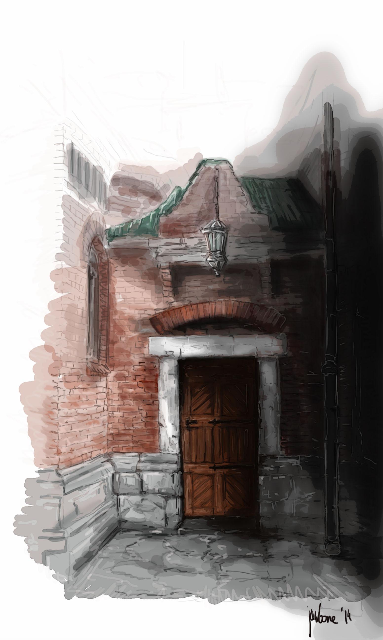 Old musky door