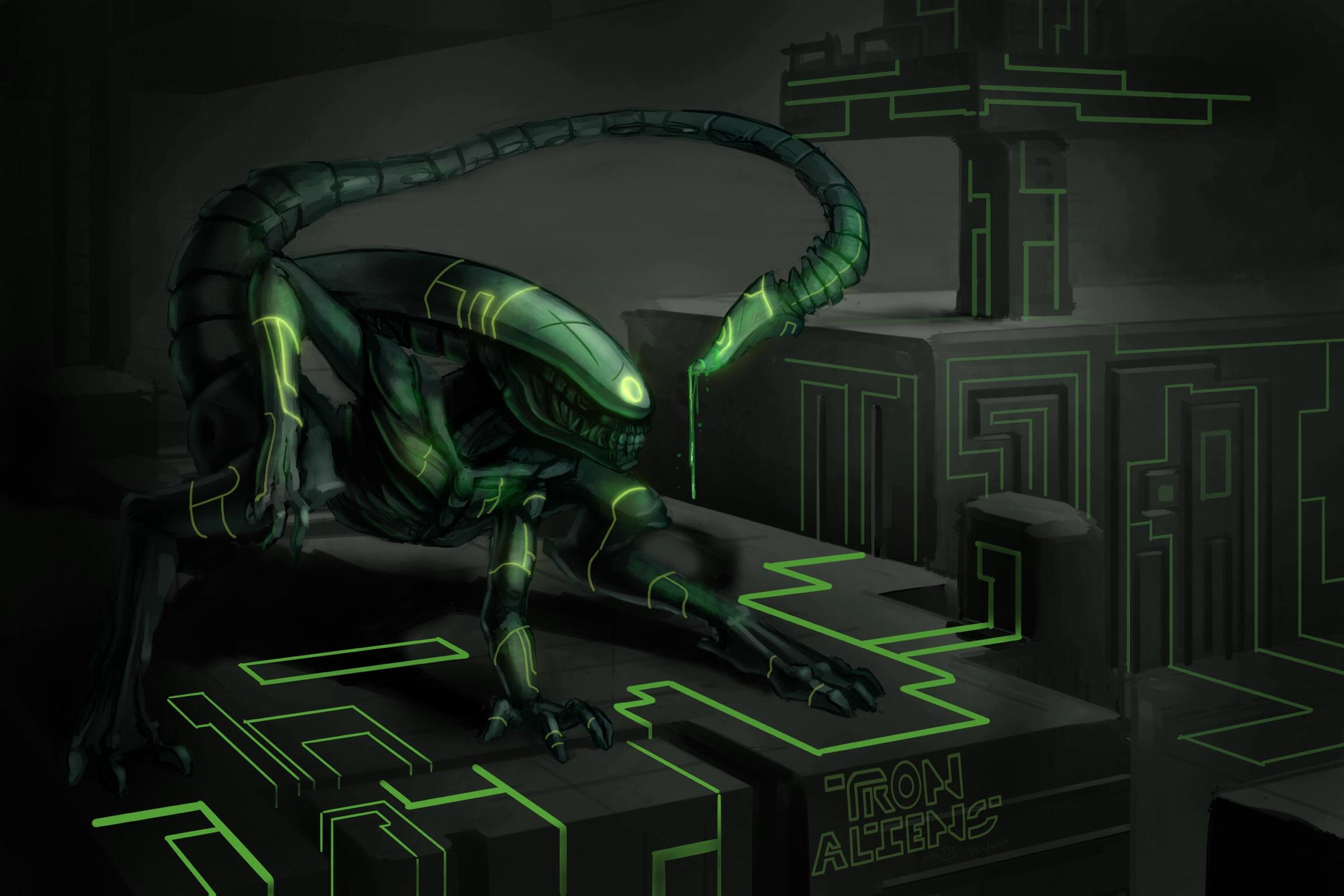 Tron Aliens