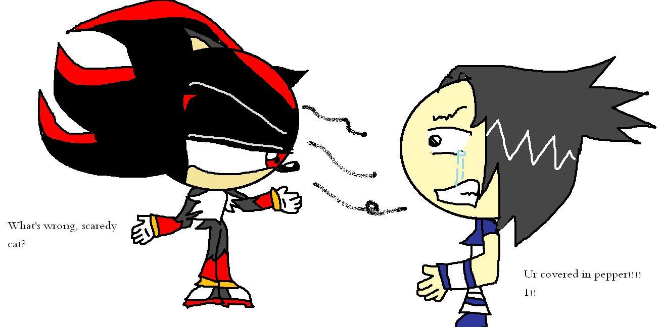 Shadow vs. Sasuke
