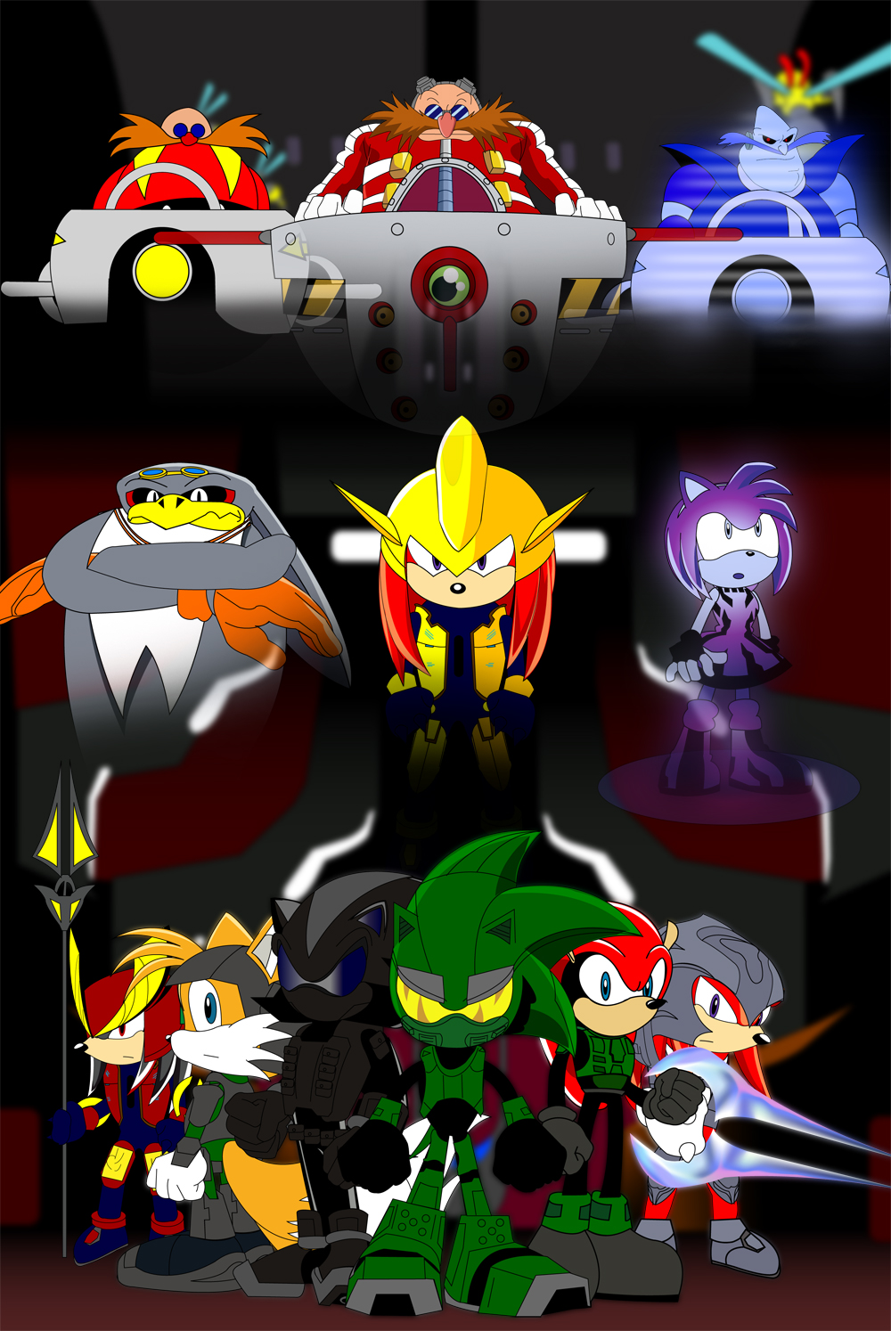 Sonic Halo Poster