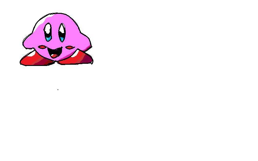 Custom Kirby Sprite