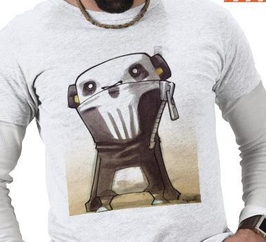 Skull Panda Shirt Design