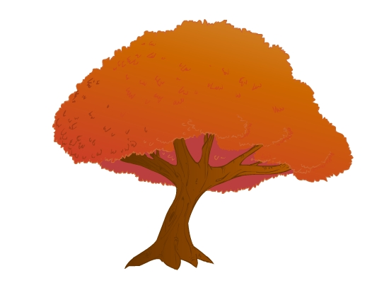 Oak-Colored and Vectored