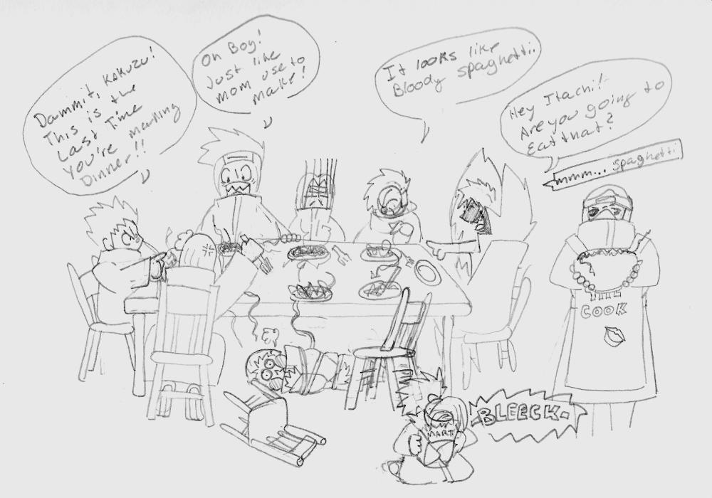 Dinner with the Akatsuki