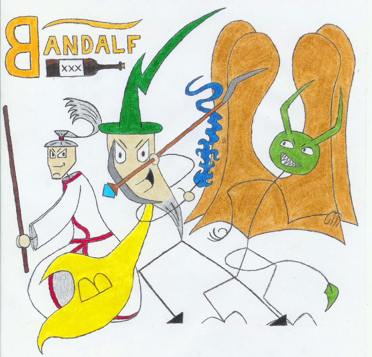 Bandalf Comic Art