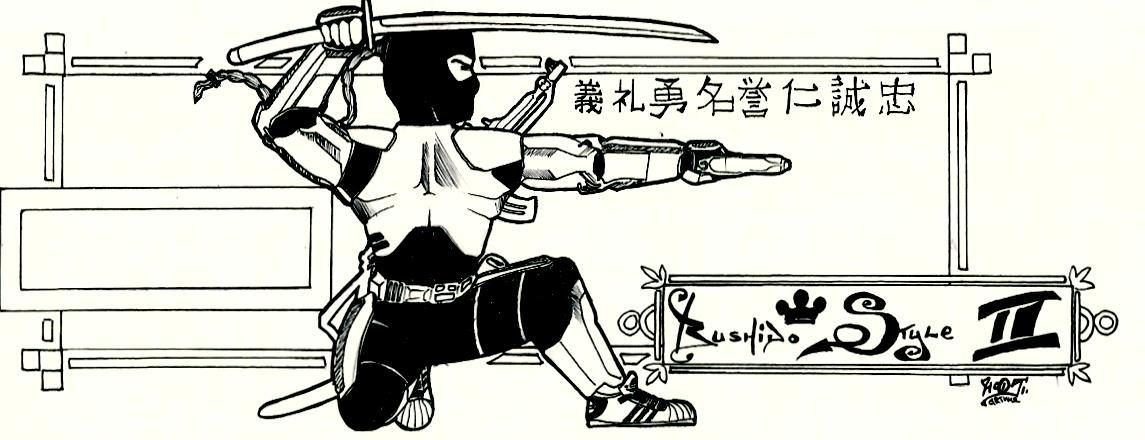 HipHop Ninja with AK47