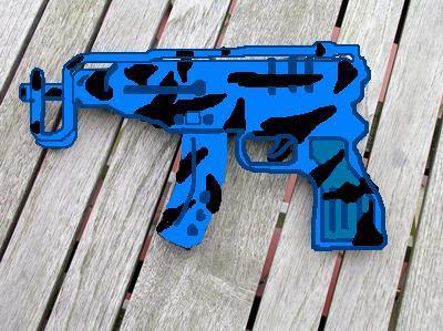 Blue Tiger Skorpion