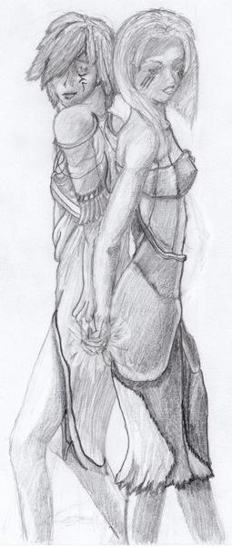 Maverie and Rakiir