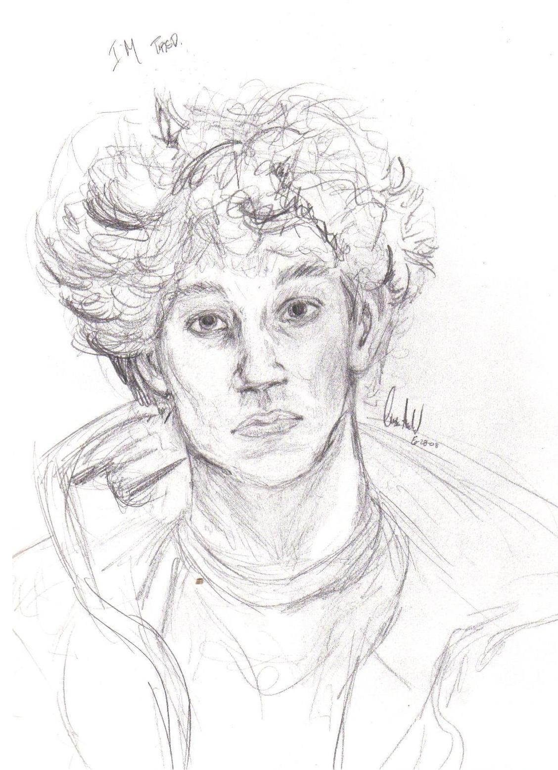 Old Old Self Portrait.