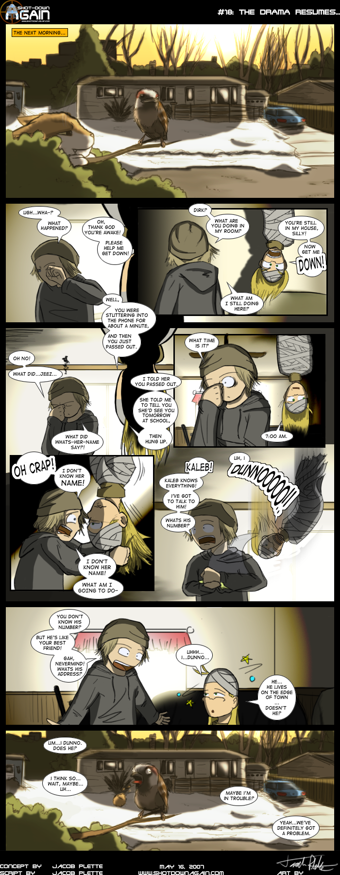 SDA #18: The Drama Resumes...