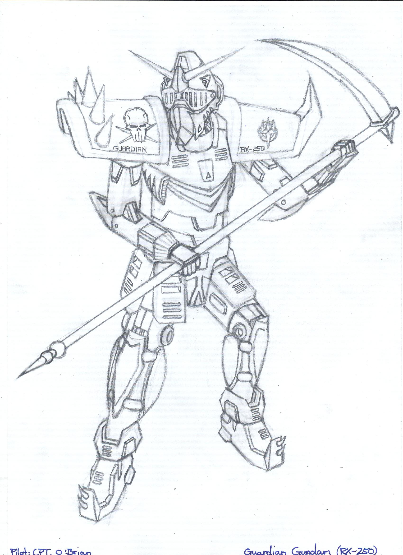 Guardian Gundam RX-250