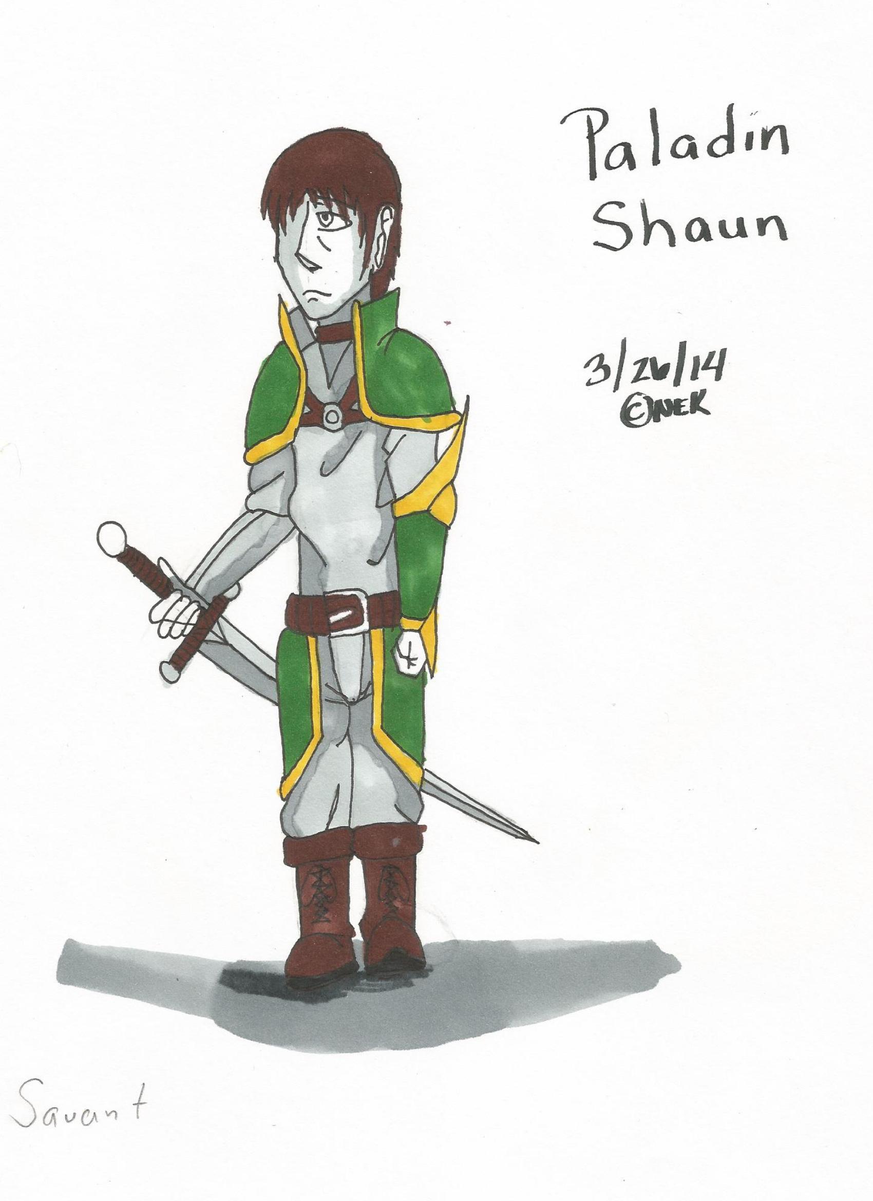 Paladin Shaun