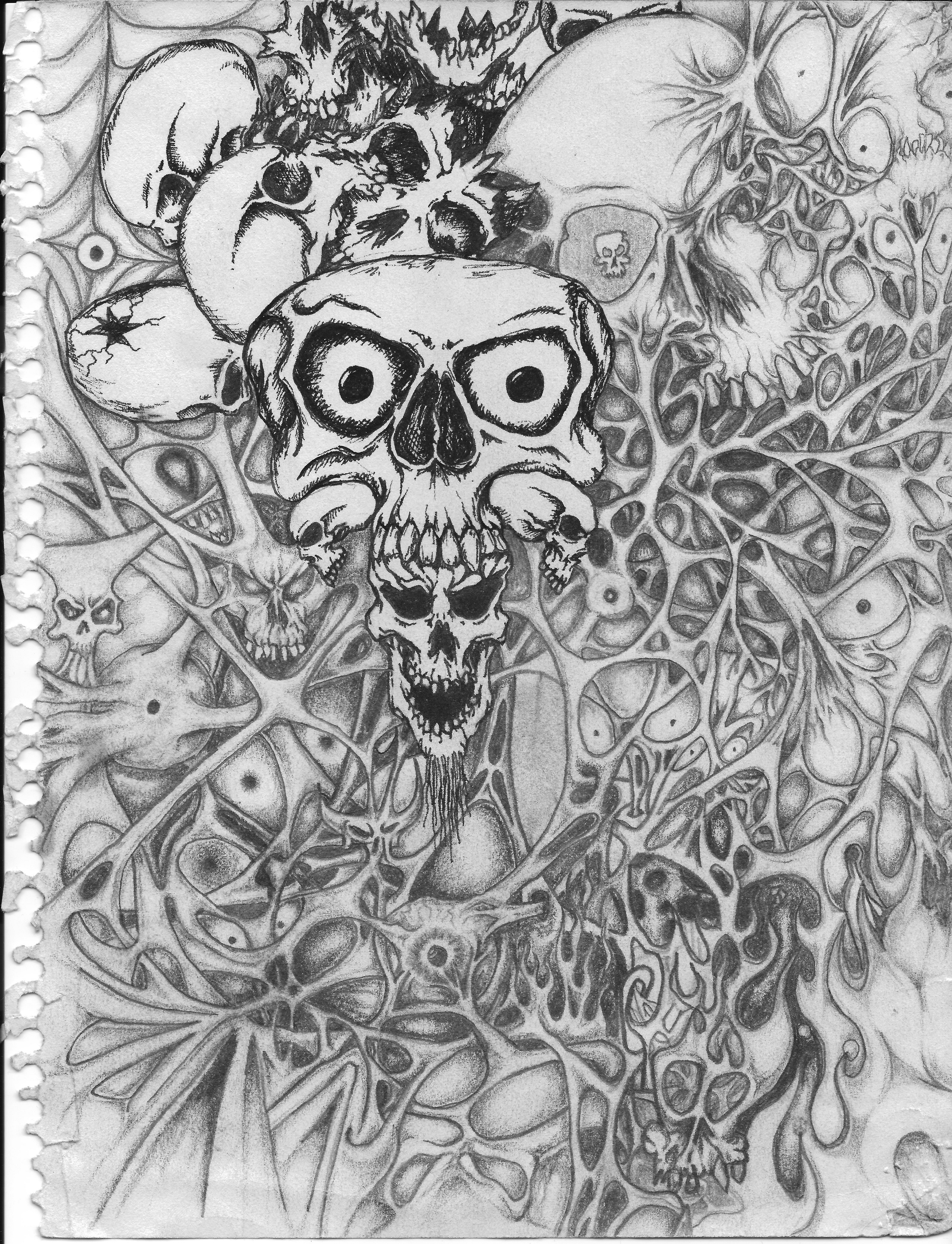 Dad's Drawing #1: Kind of Hell