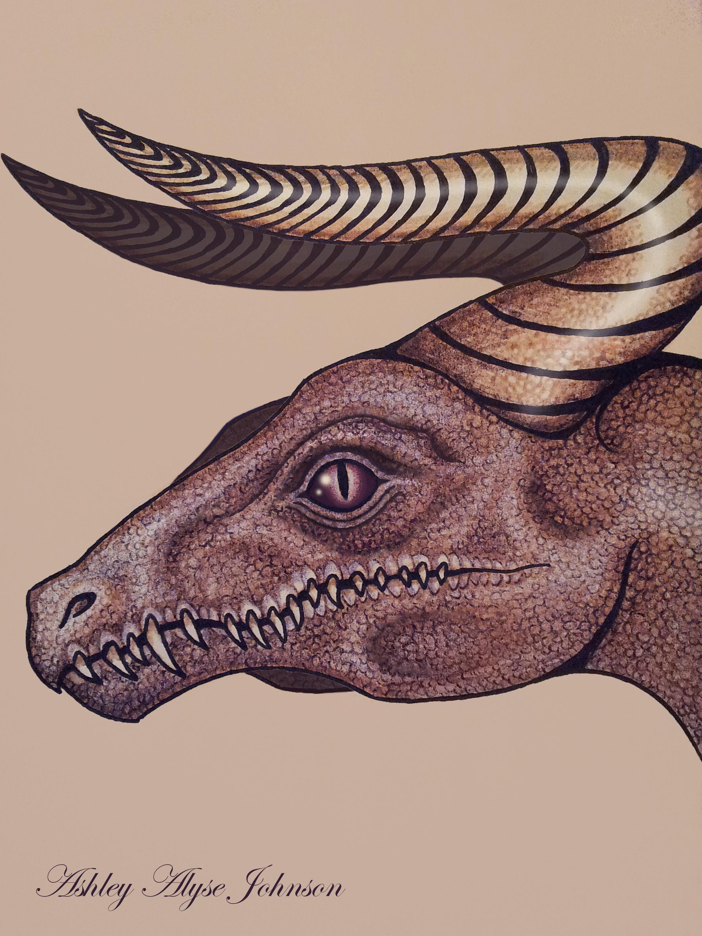 Royal Purple Dragon