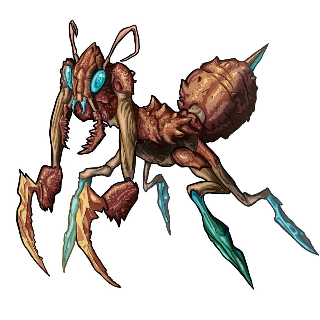 Mantis monster