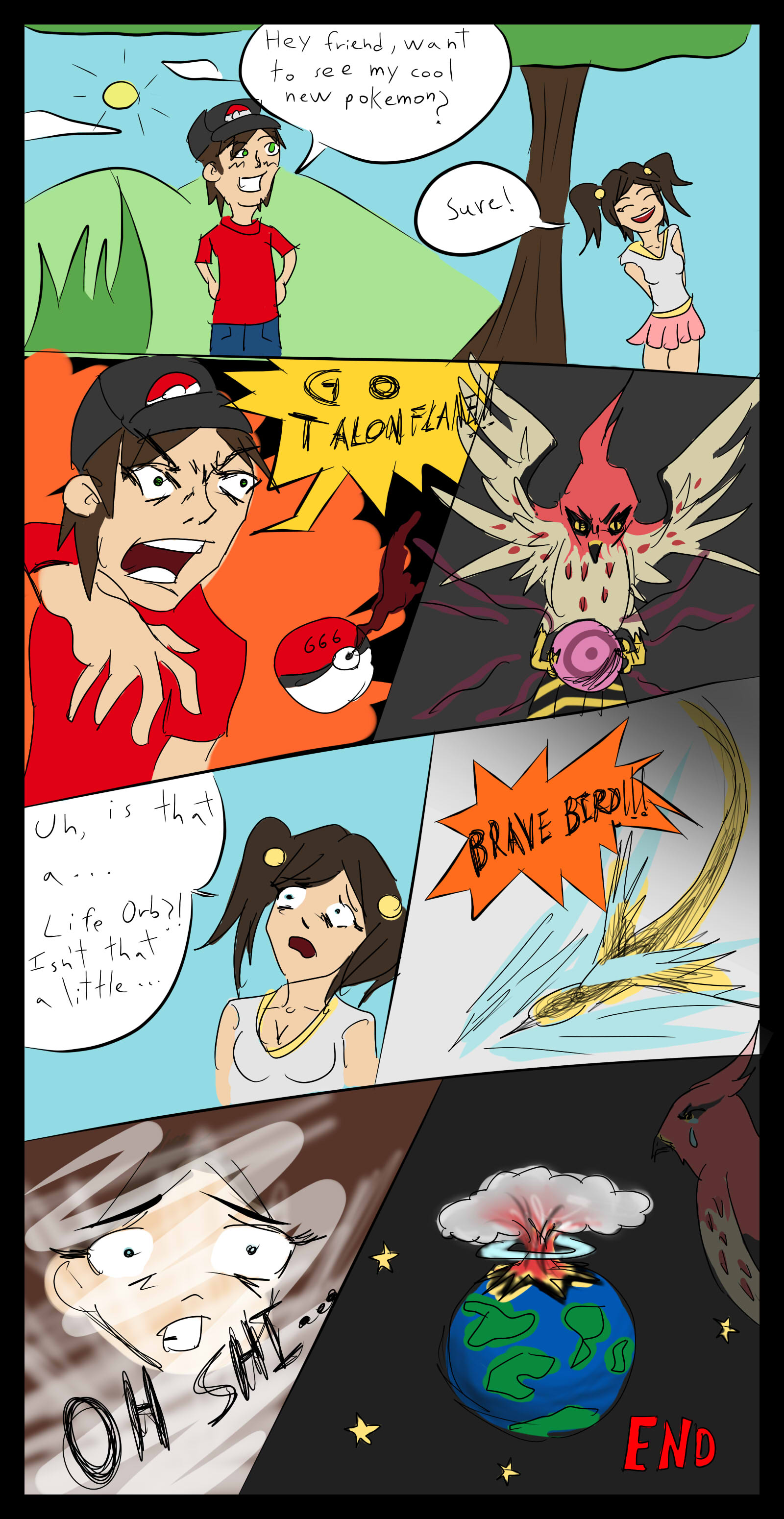 The Dangers of Talonflame