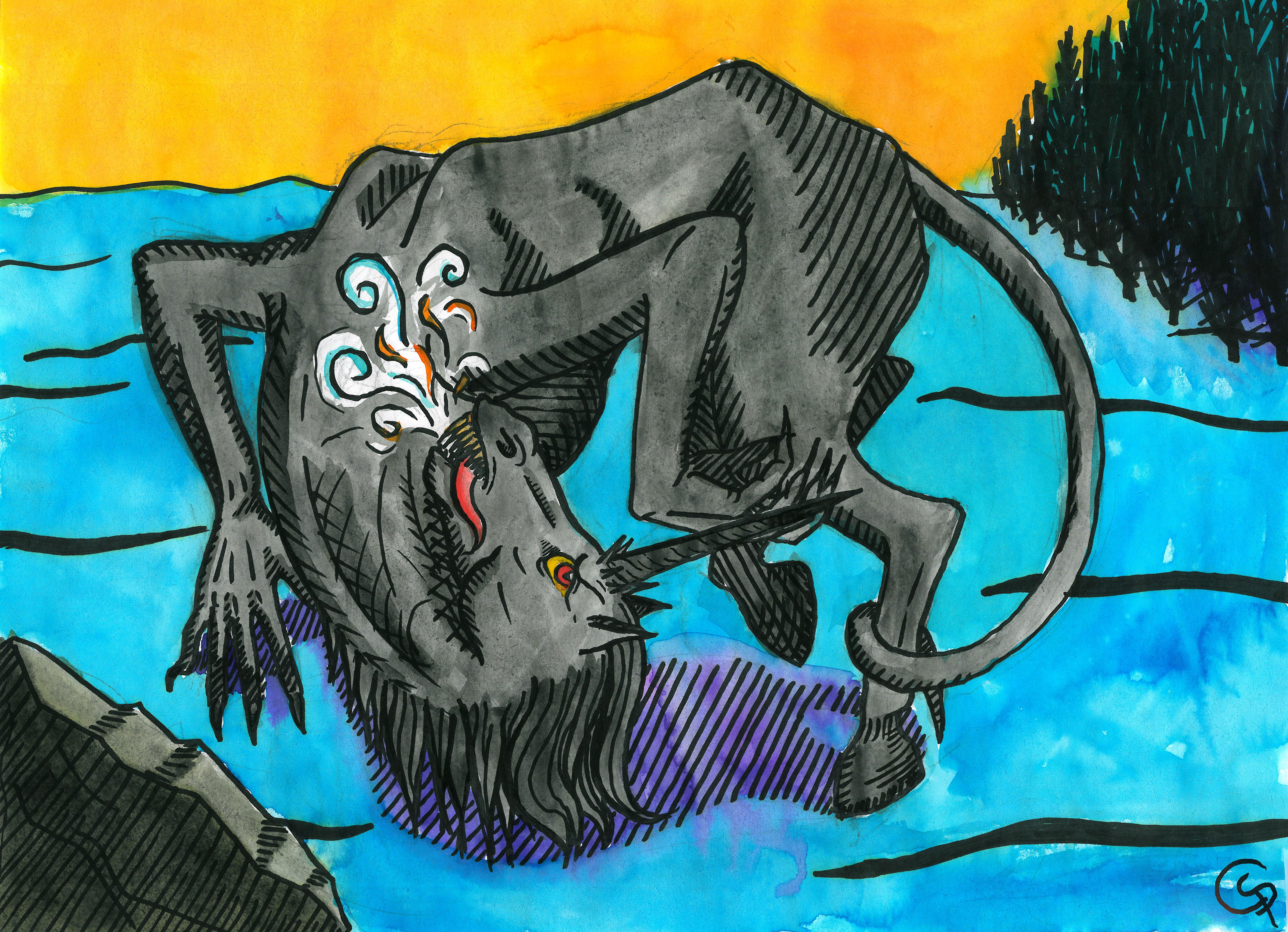 Evil Unicorn