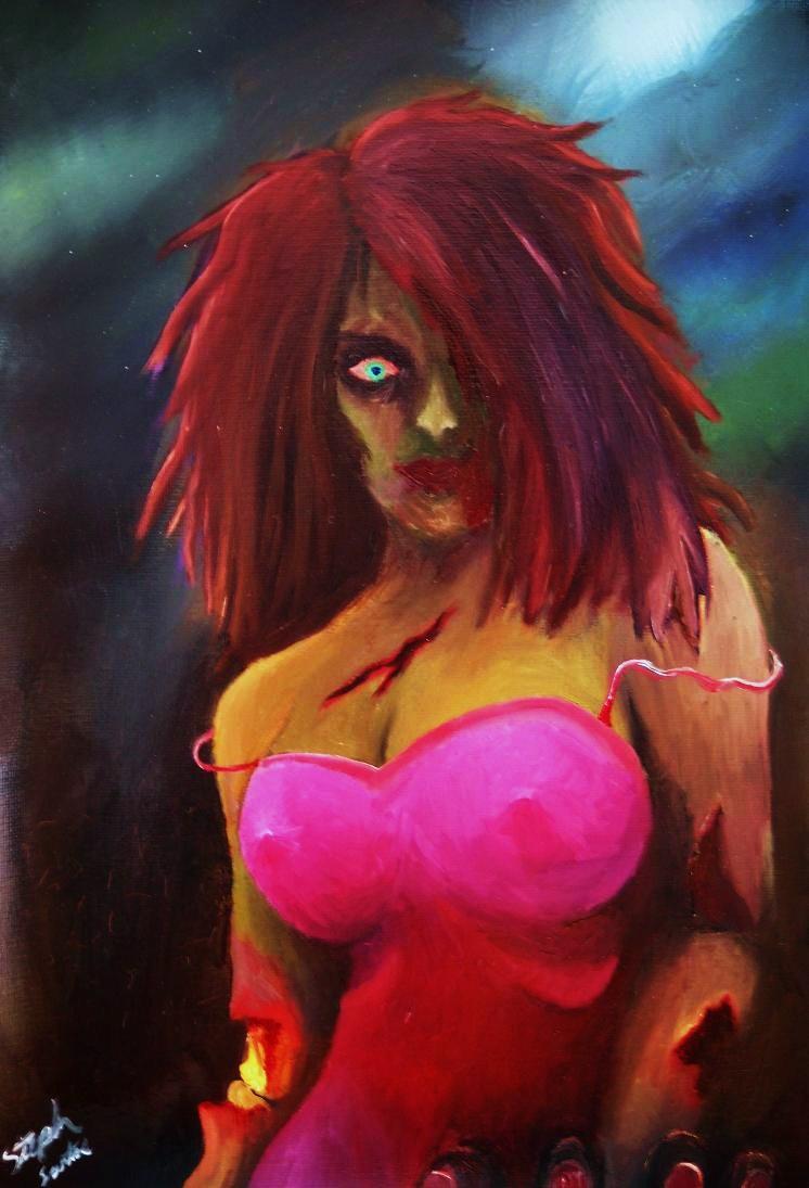 Hot Zombie Babe