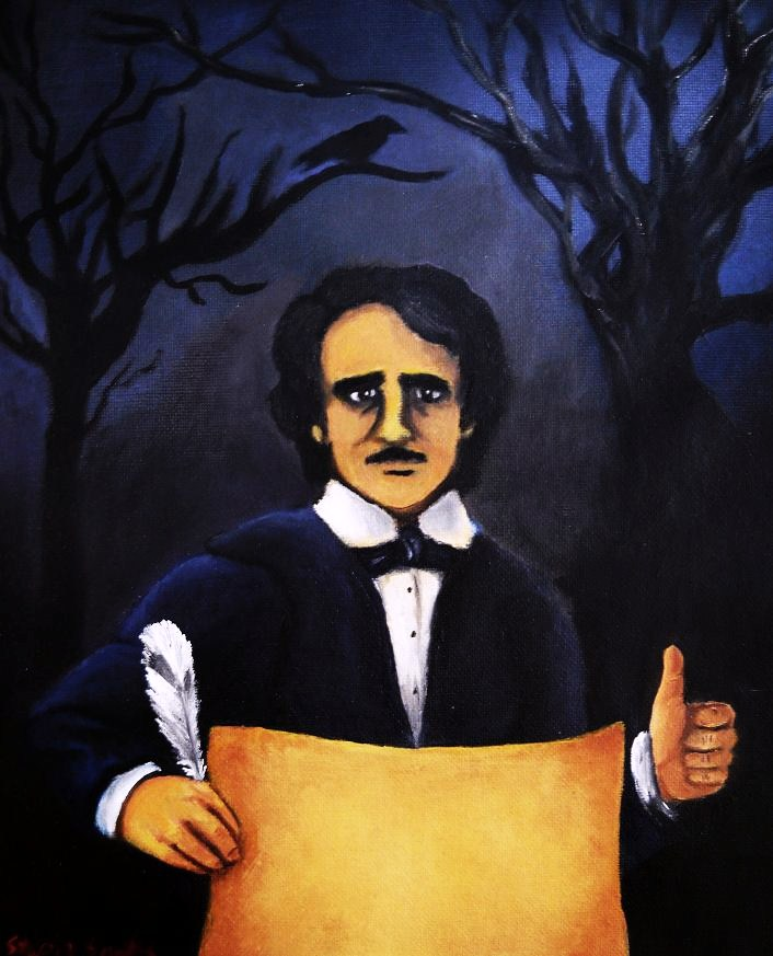 Edgar Allan Poe-trait