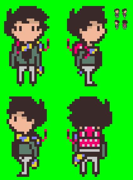 the dude - pixel art