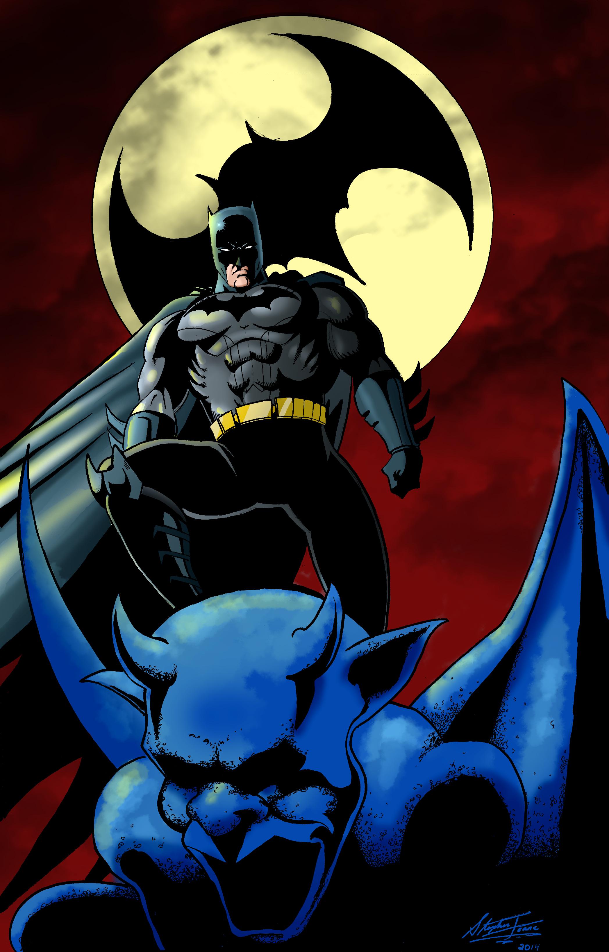 Batman Splash Page