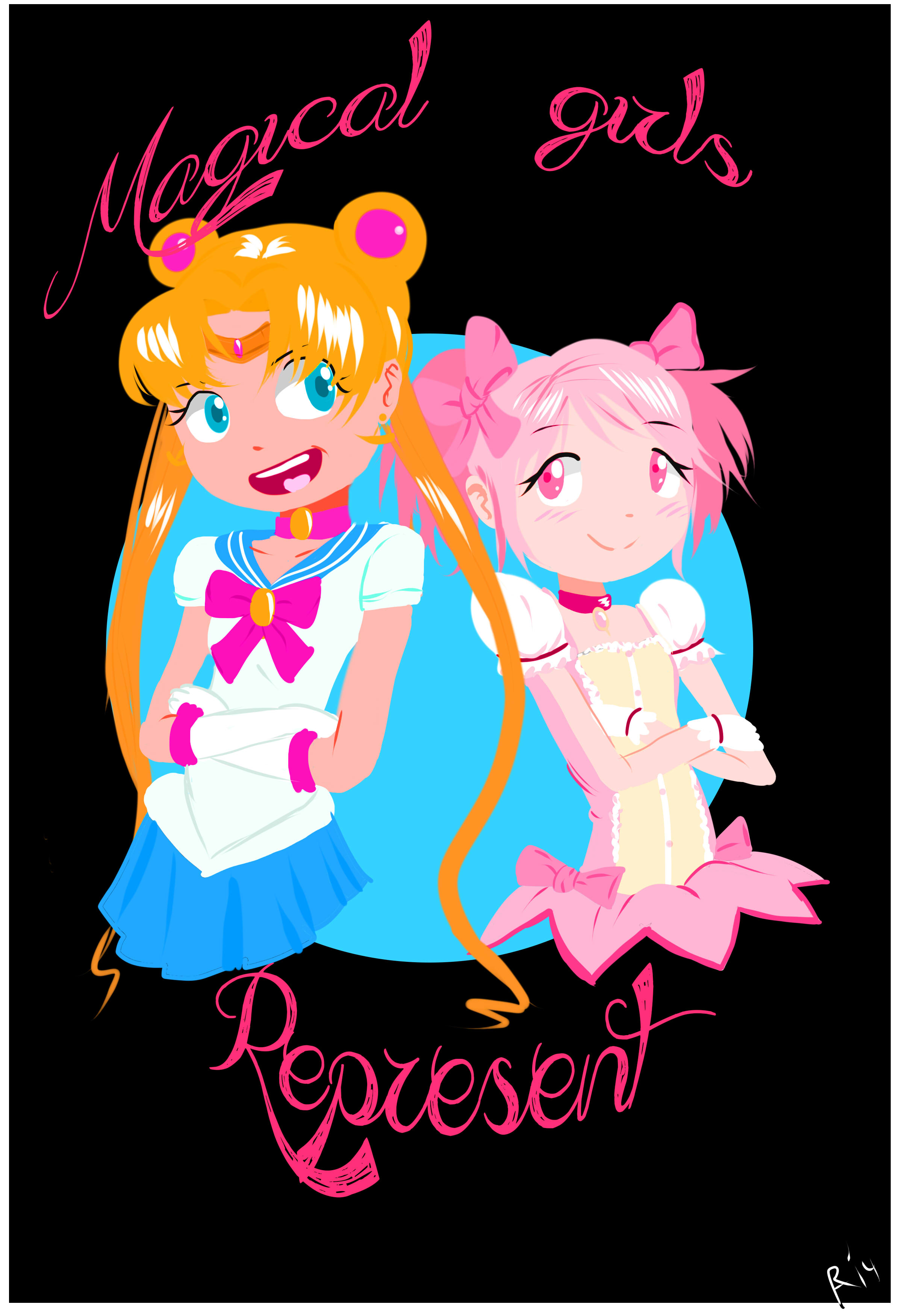 magical girls represent