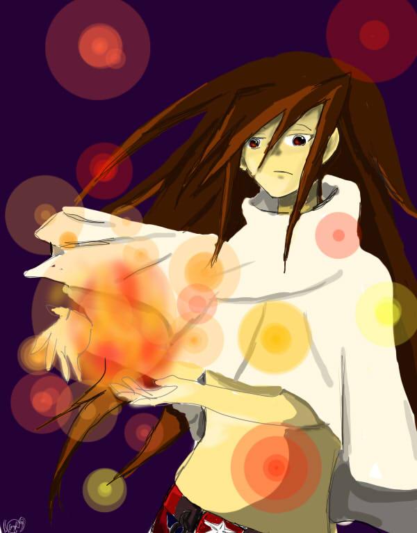 Hao Asakura (Flame sparks)