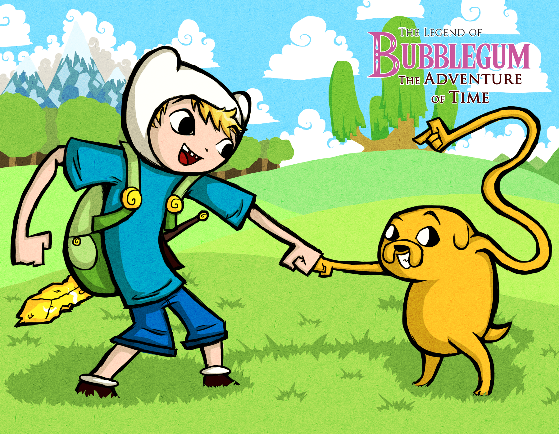WW Style Finn and Jake