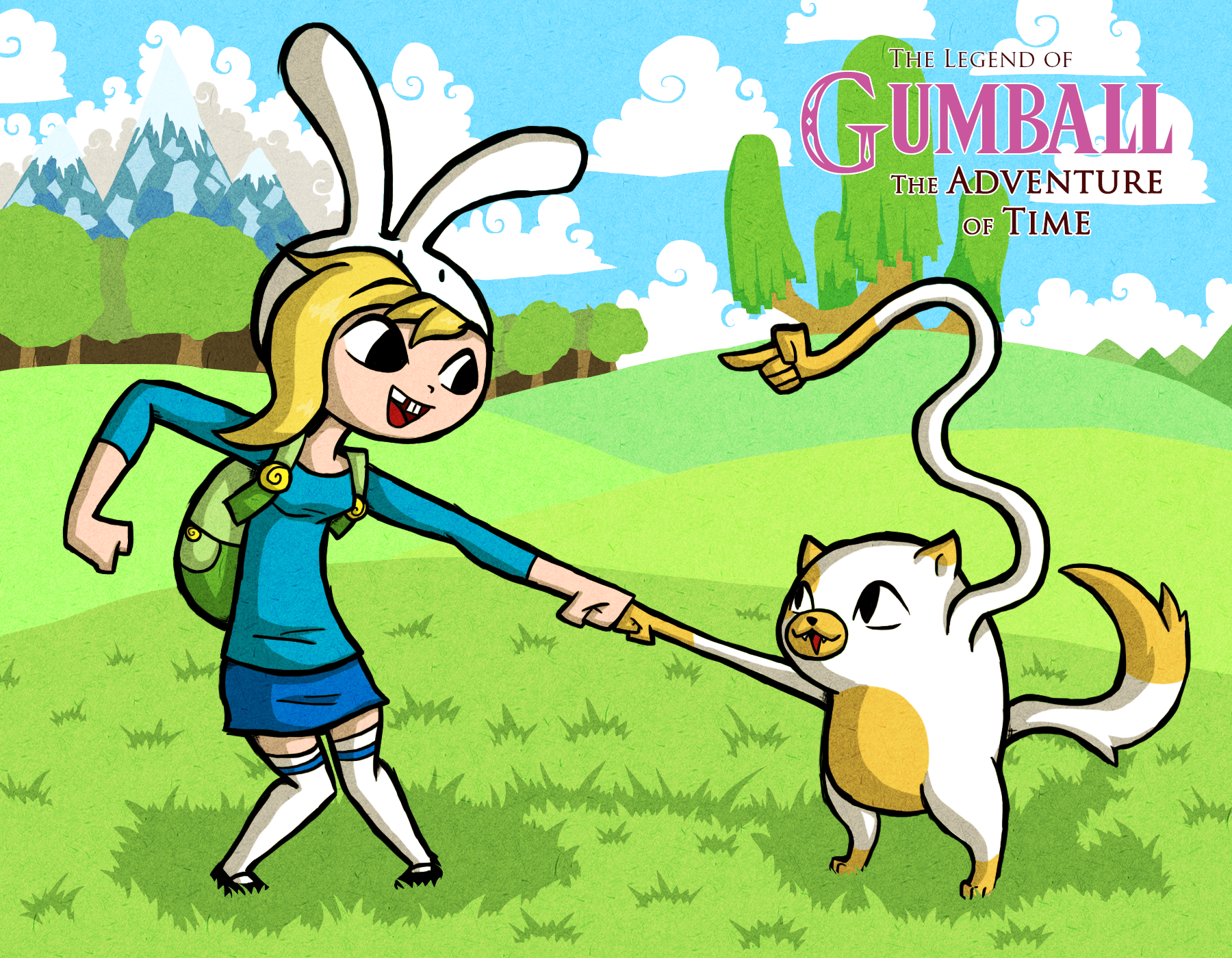 WW Style Fionna and Cake
