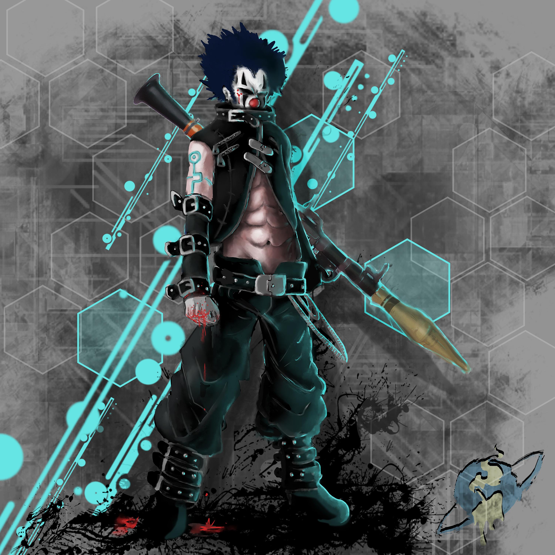 Cyber Punk Clown