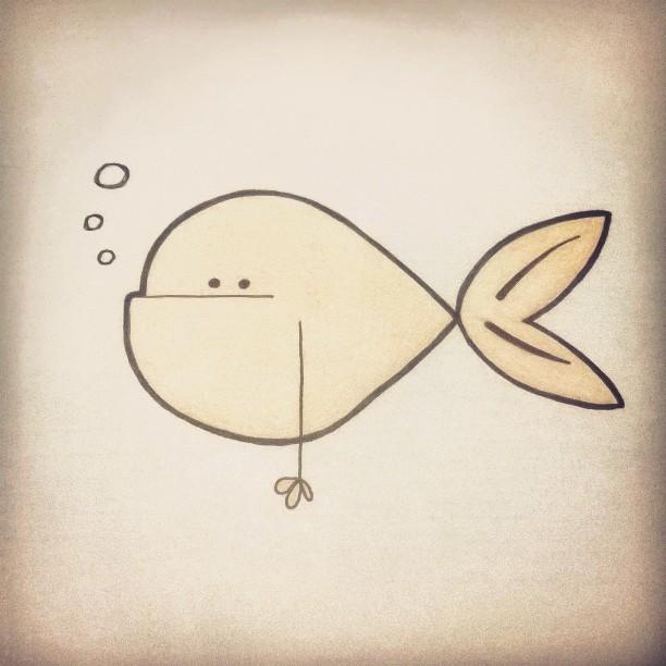 Goldfish man bun