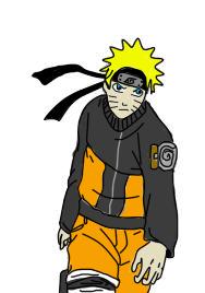 My Naruto First Drawing