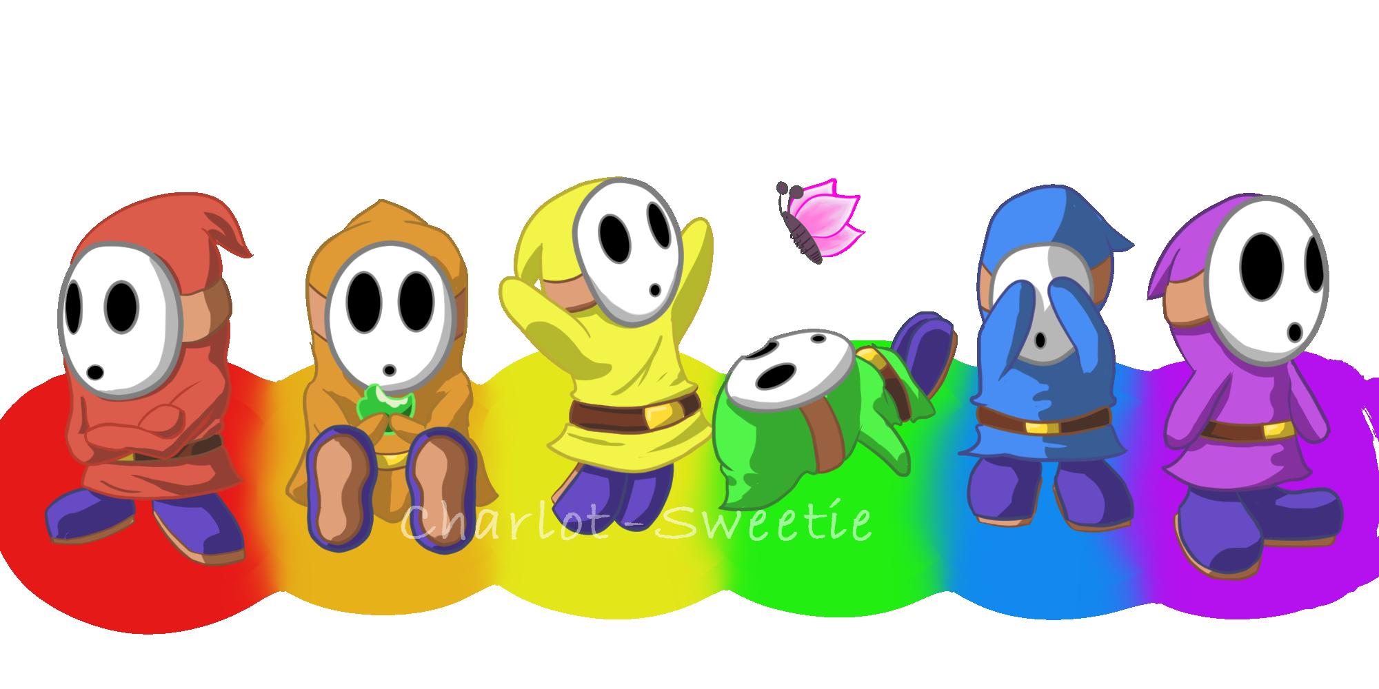 The many emotions of Shyguy
