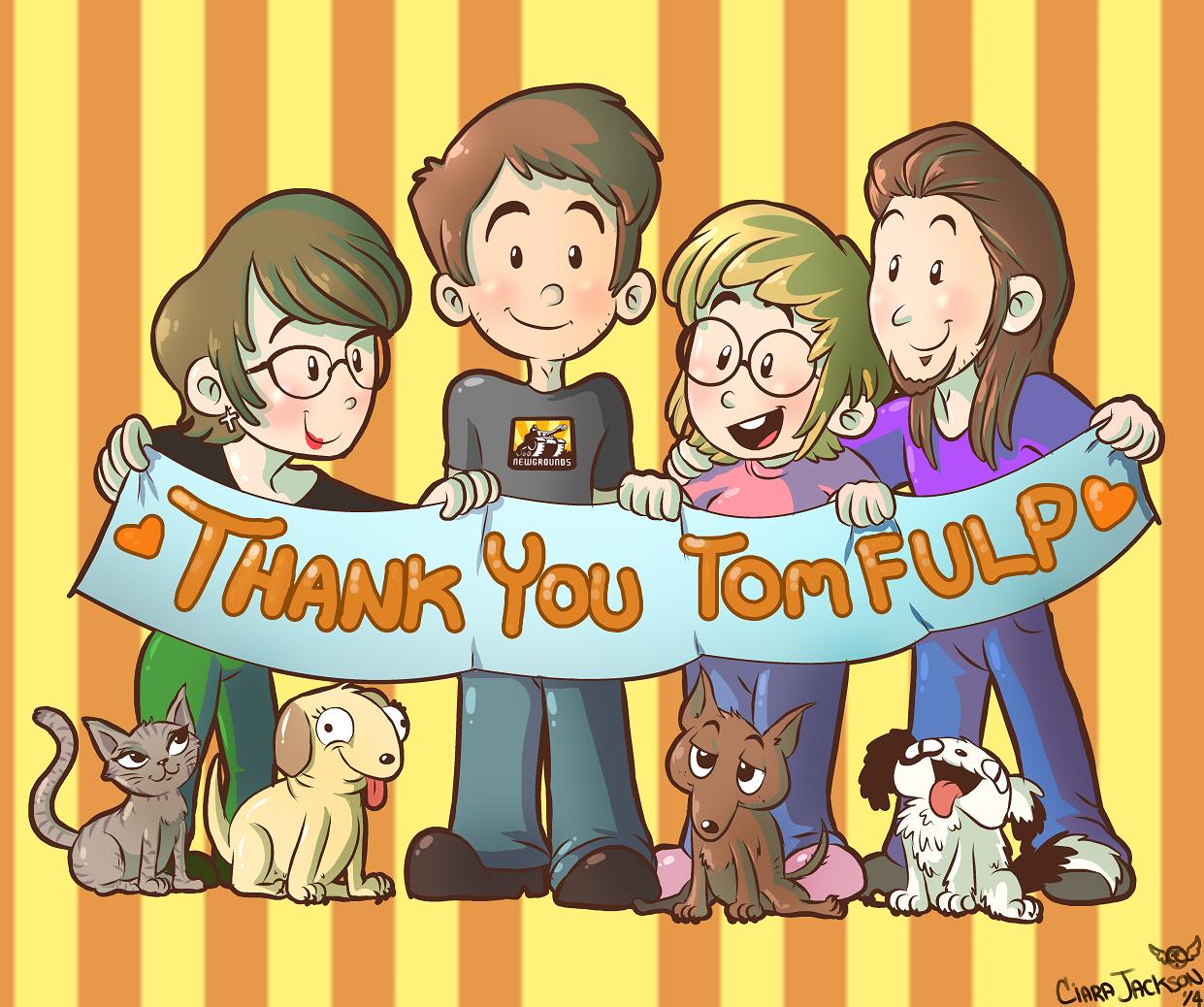 Thank You, Tom Fulp!!!