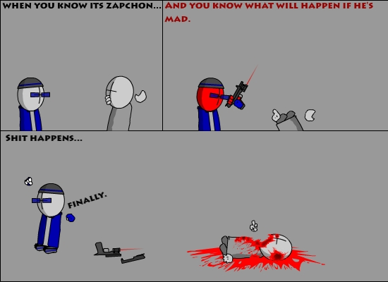 Zapchon Anger Management
