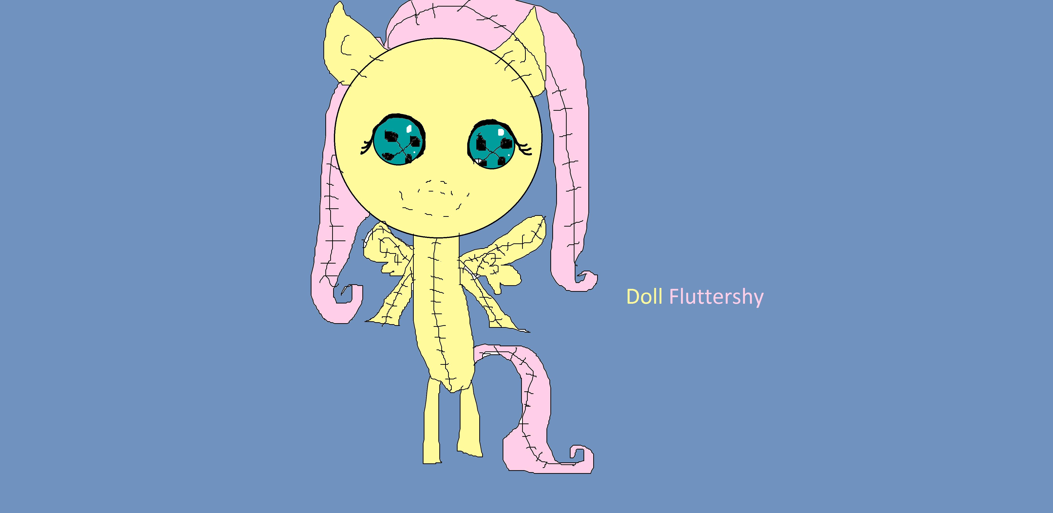 Doll Fluttershy
