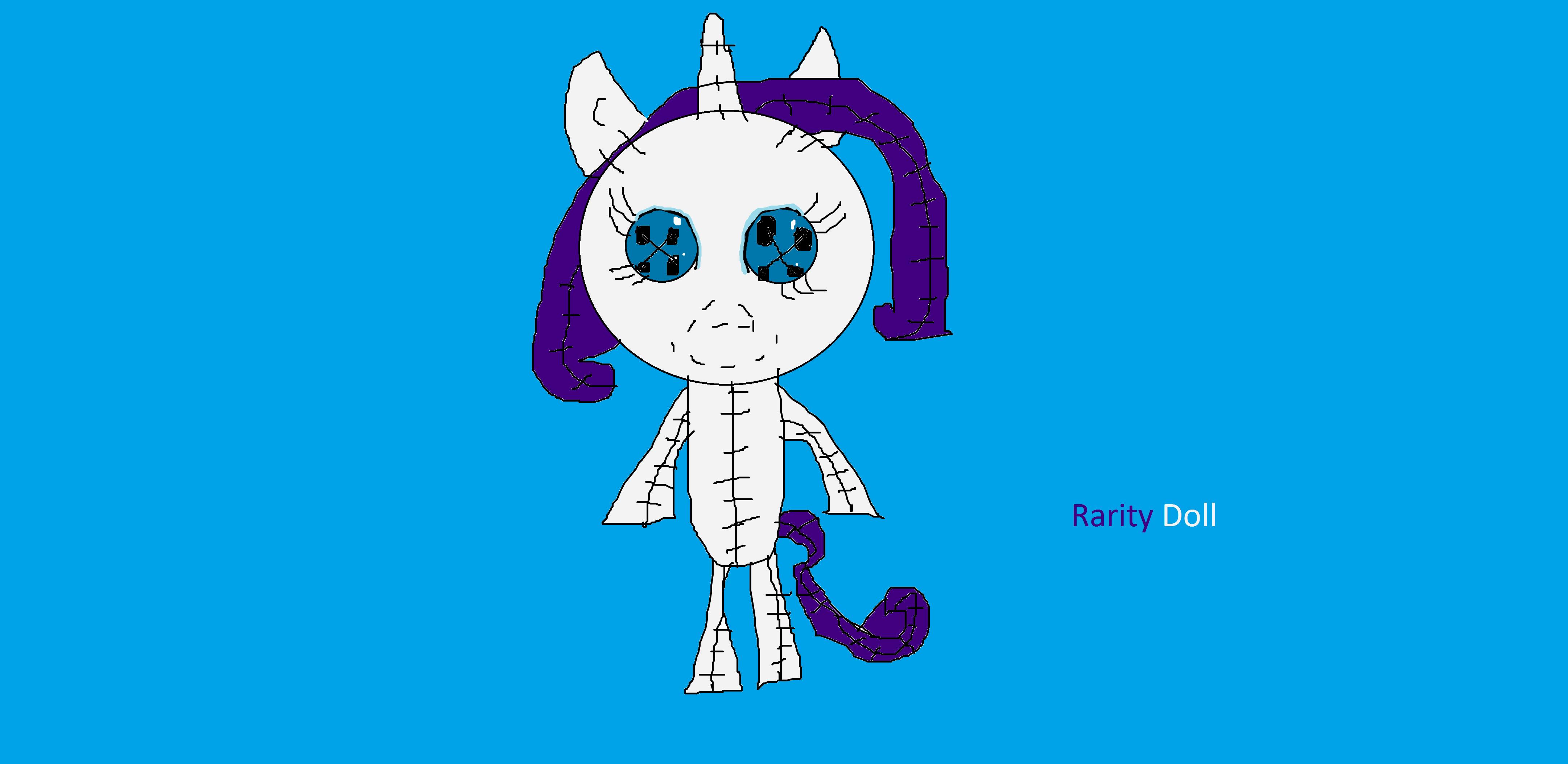 Rarity Doll