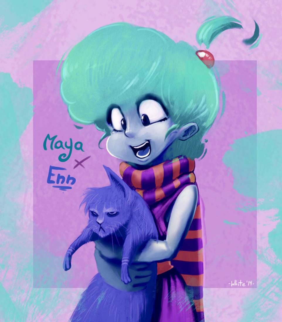 Maya and Enn