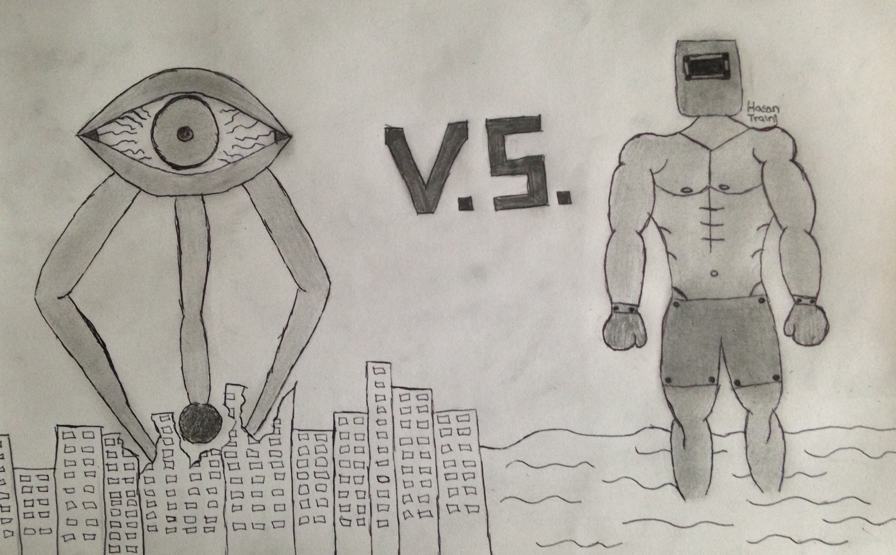 Walkeye VS Ironmuscles