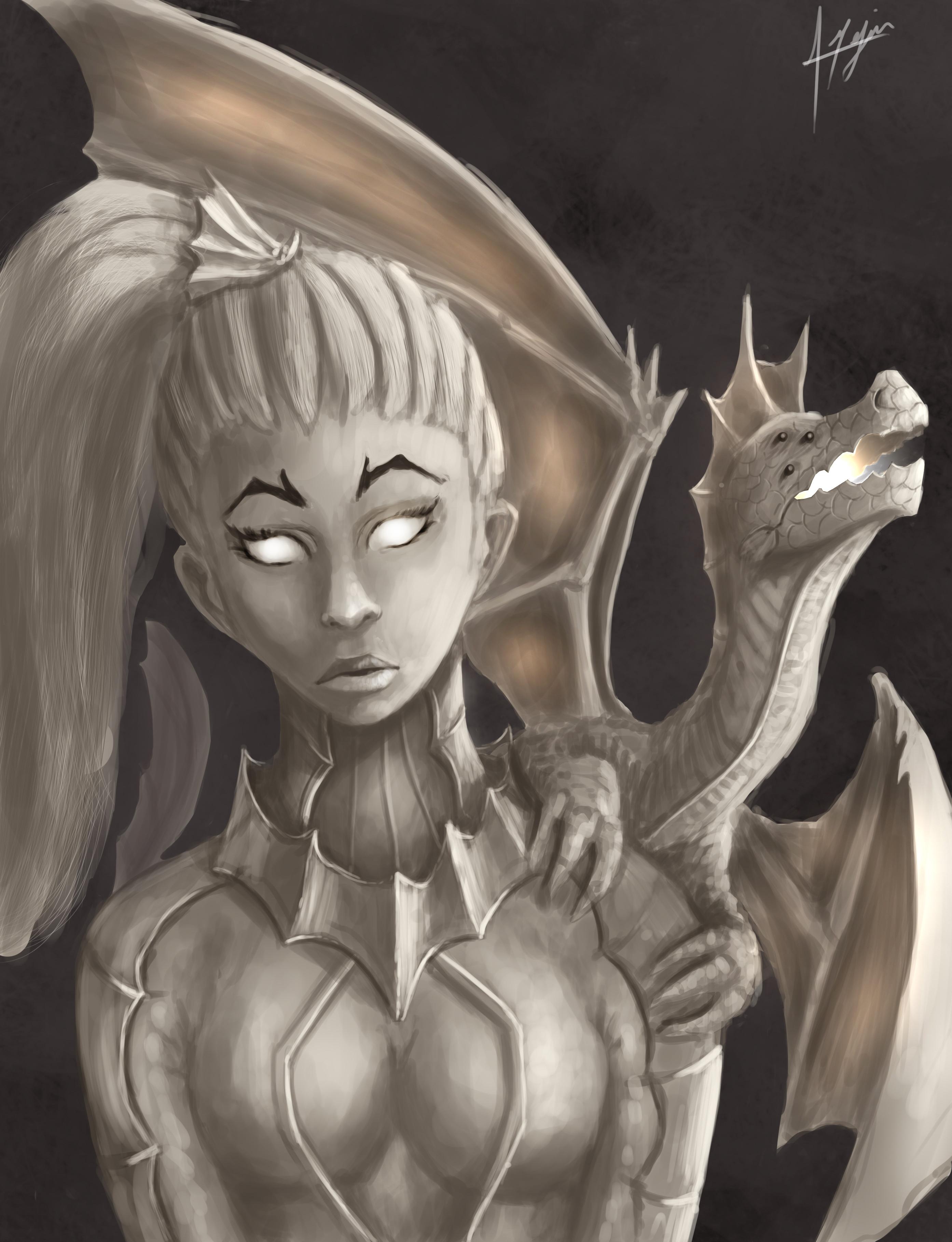 Dragon Girl.