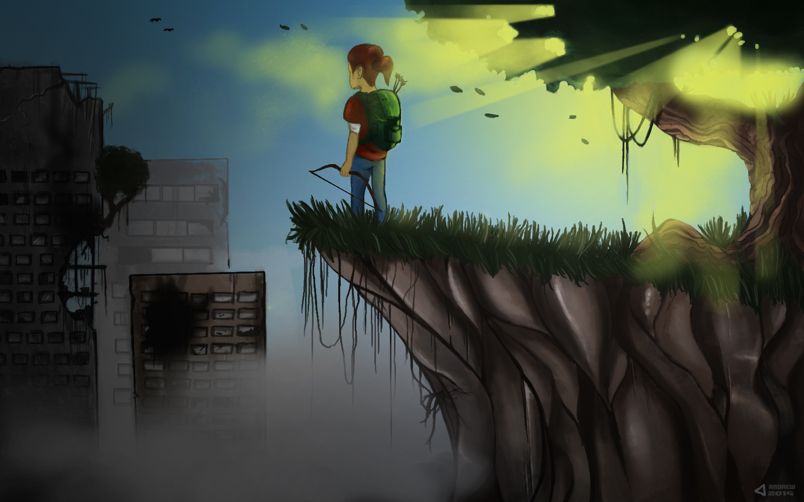 The Last Of Us (painting)