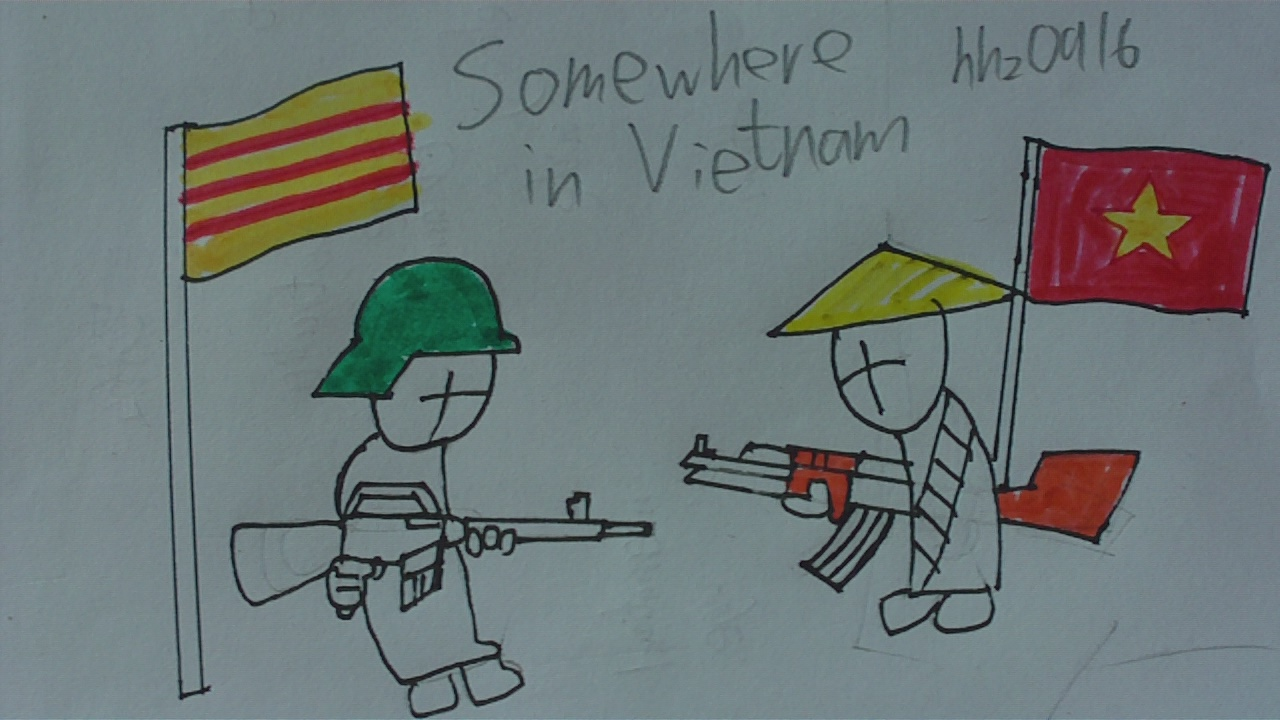 MADNESS: somewhere in Vietnam