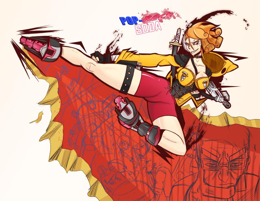 Flying Turbo Dragon Kick V.1