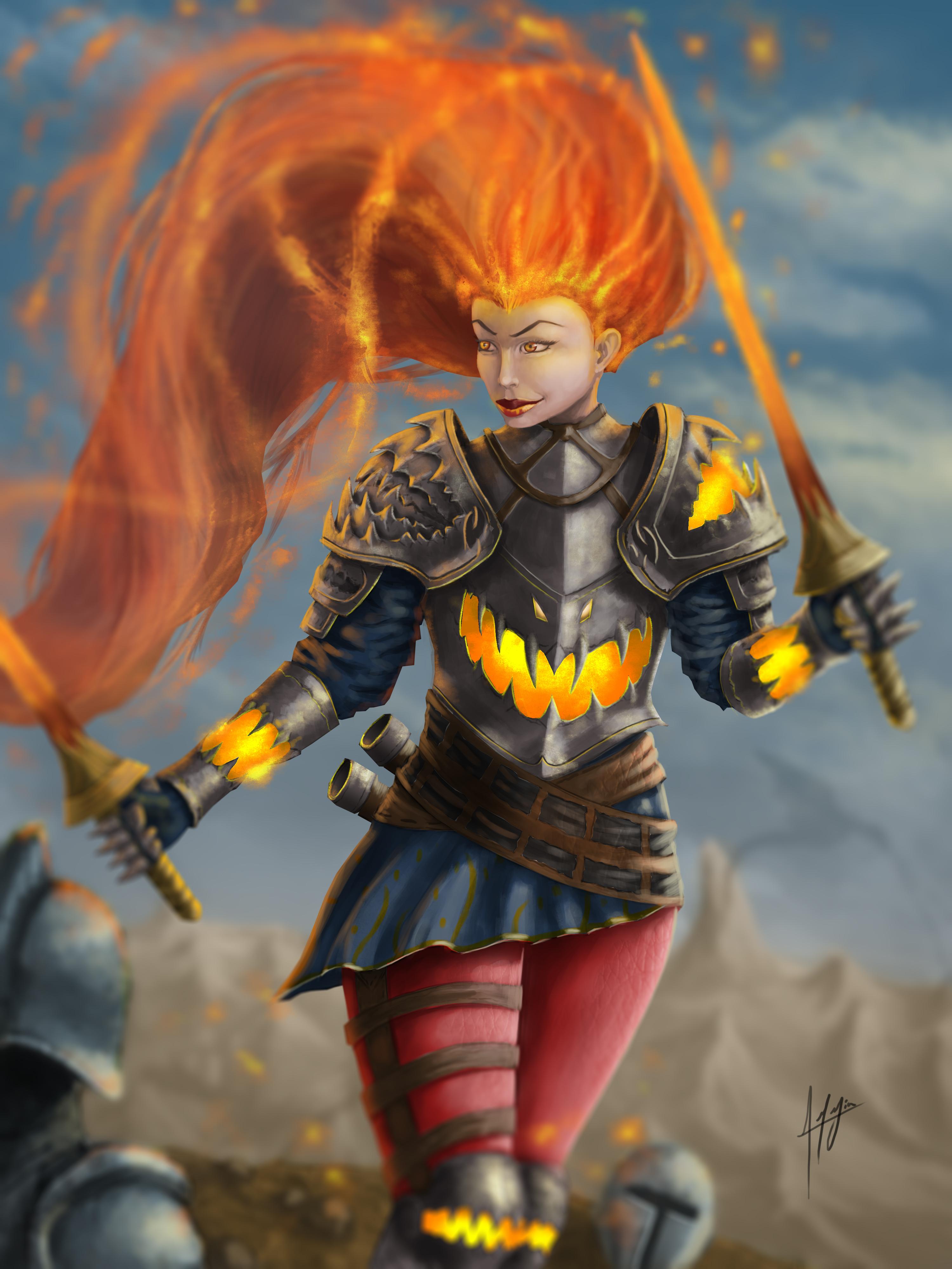 Fire Warror.