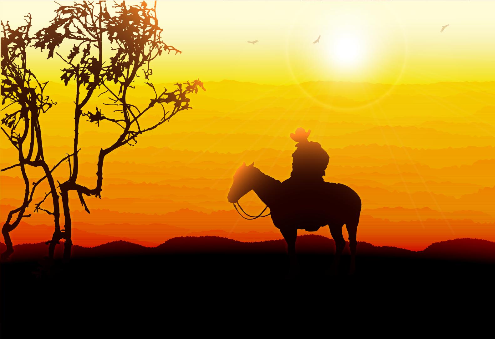 Western Sunset.