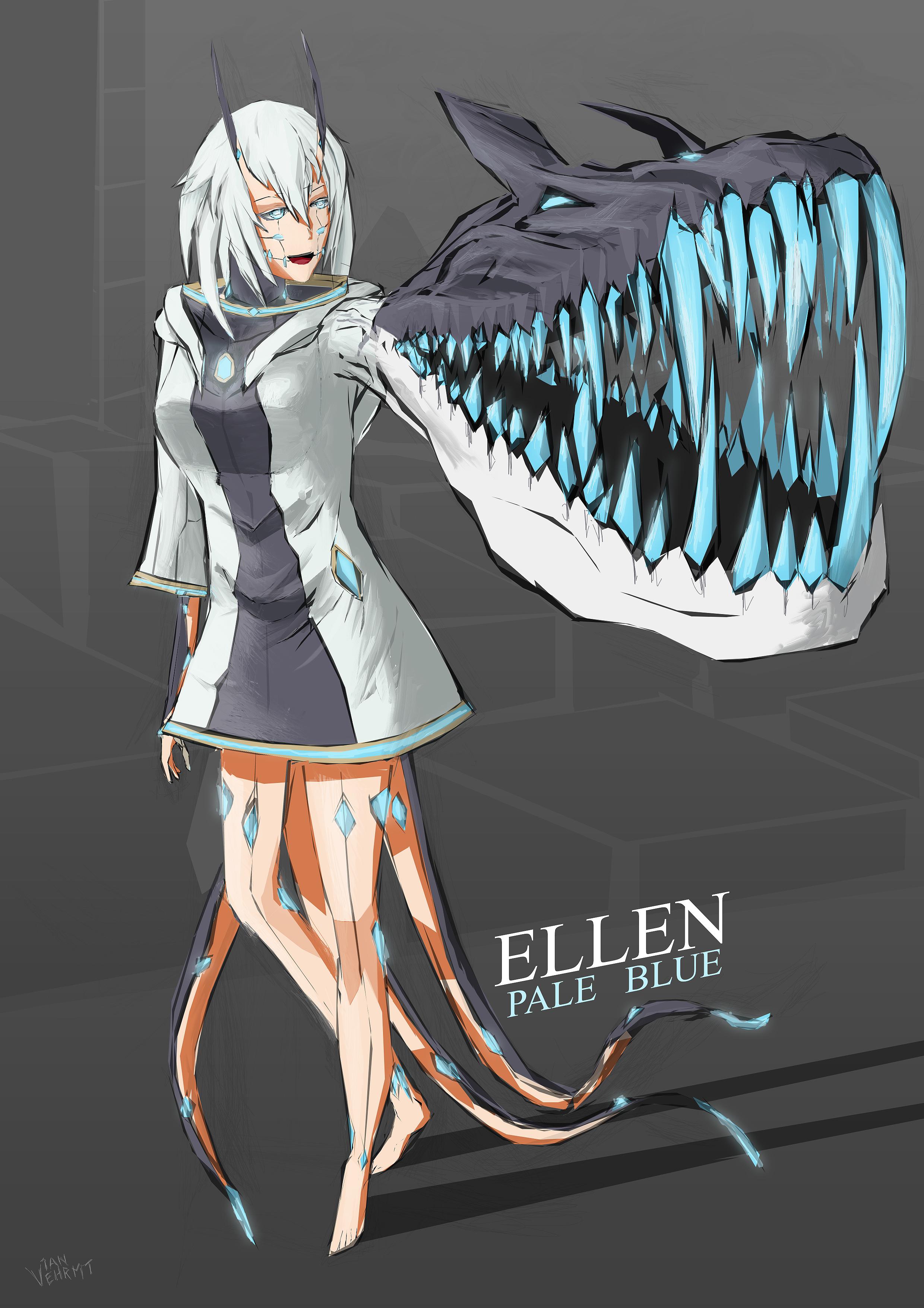 Pale Blue - Ellen